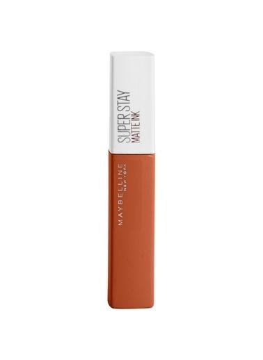 Maybelline Maybelline New York Super Stay Matte Ink City Edition Likit Mat Ruj - 135 Globe-Trotter Oranj